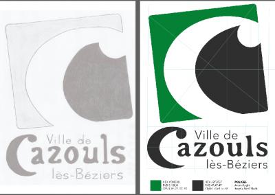 Création Logo Cazouls les Beziers